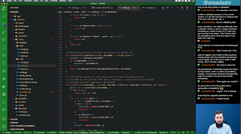 Coding Scene